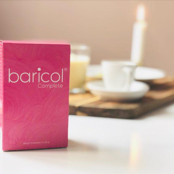 Baricol complete sväljtablett vid frukostbordet
