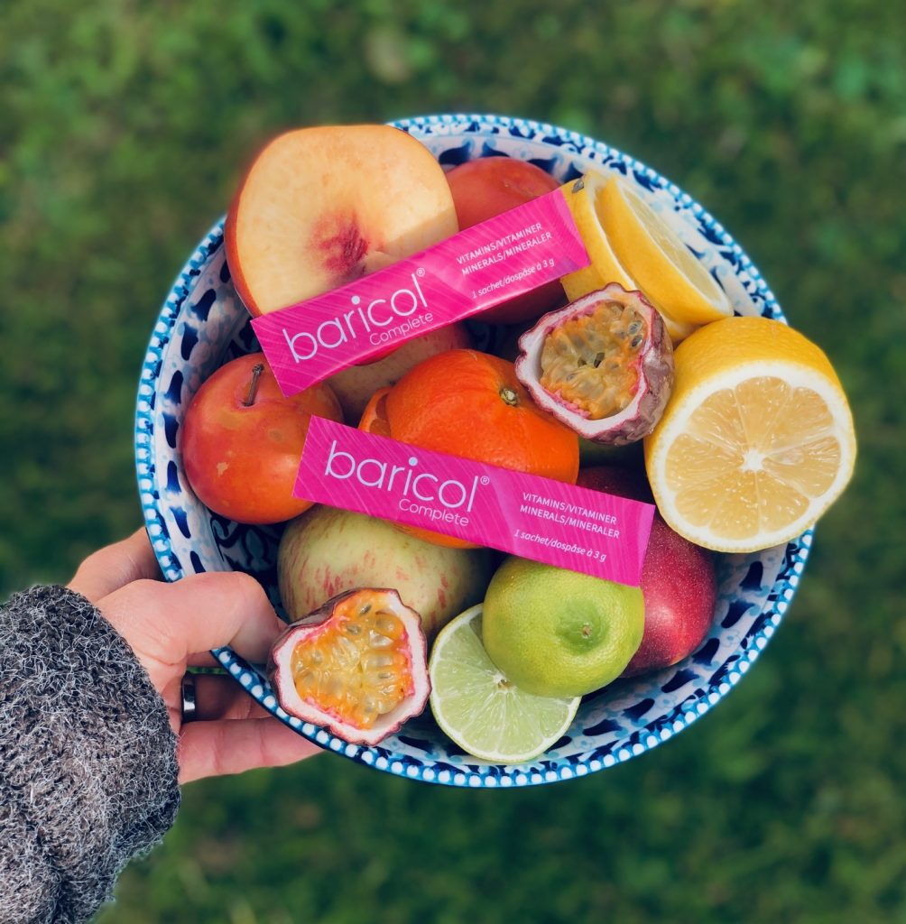Baricol Complete I fruktskål